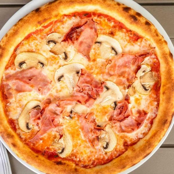 PIZZA COTTO E FUNGHI - Gusto Ristobar