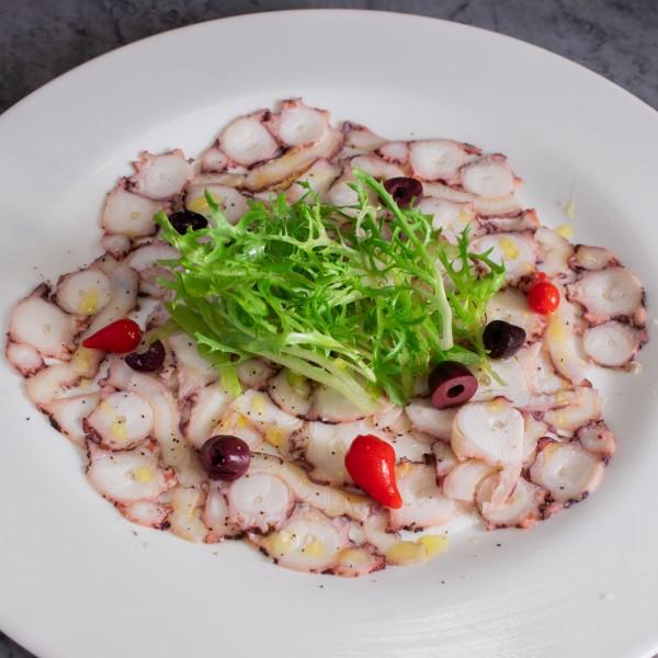 Octopus Carpaccio* - Gusto Ristobar